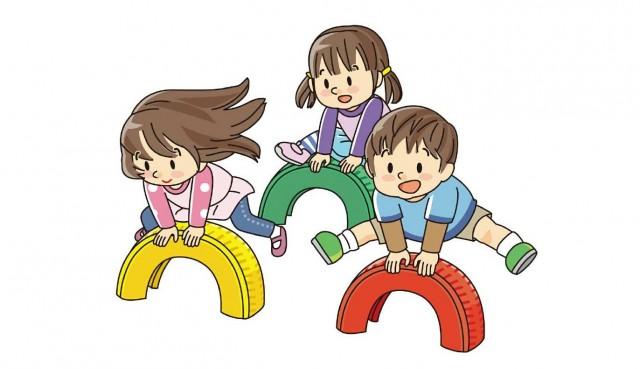 保育園 見学 子供たち