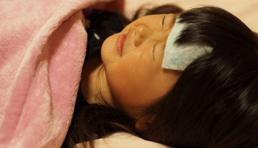 インフルエンザの症状!子供が熱を出したときの対処法は?